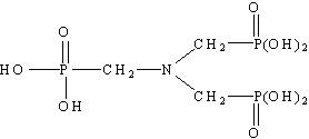 ATMP氨基三甲叉膦酸分子式